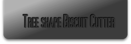 Tree shape Biscuit Cutter